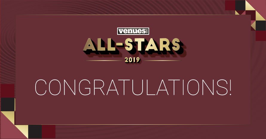 2019 VenuesNow All-Stars: Tom Cantone