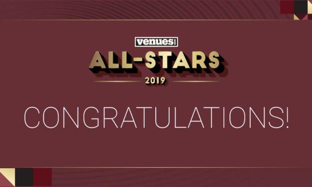Congratulations 2019 VenuesNow All-Star honorees!