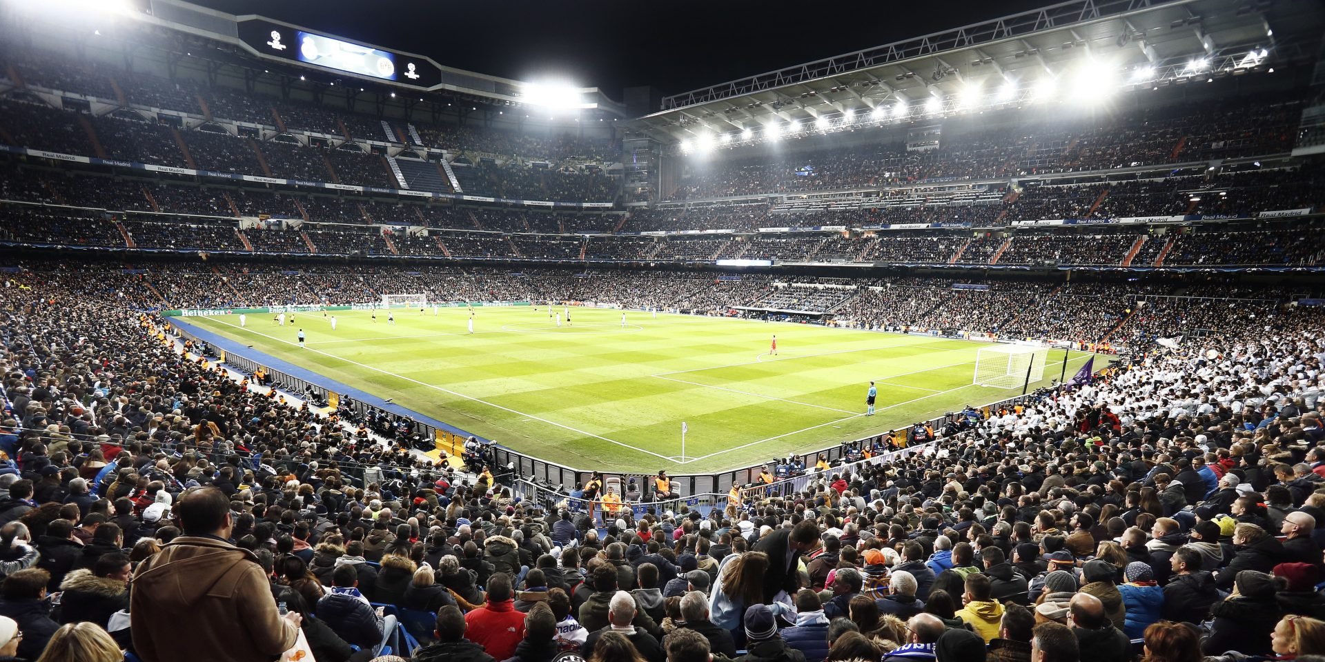Real Madrid Signs IMG for Virtual Ad Sales