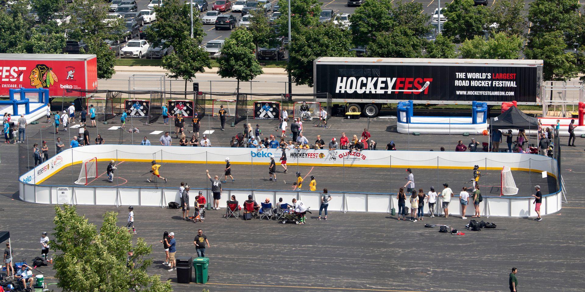 HockeyFest Drops Puck on Comeback