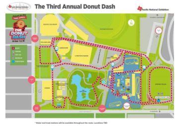 2017 PNE Donut Dash