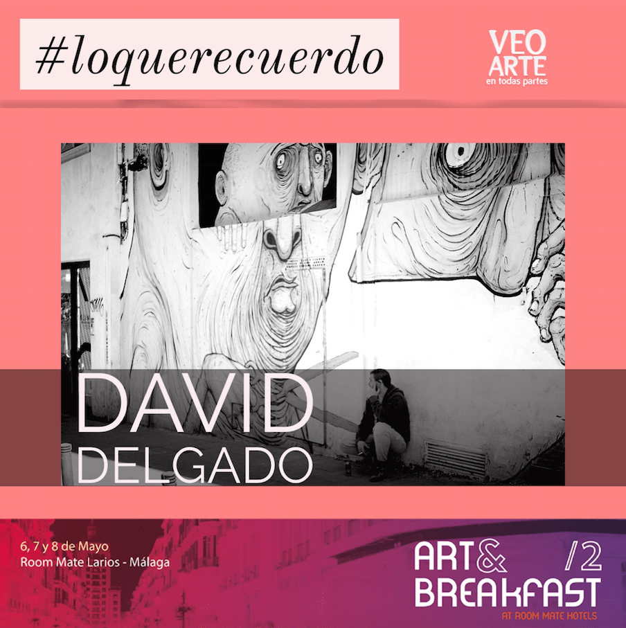 David Delgado - artandbreakfast - veoarte