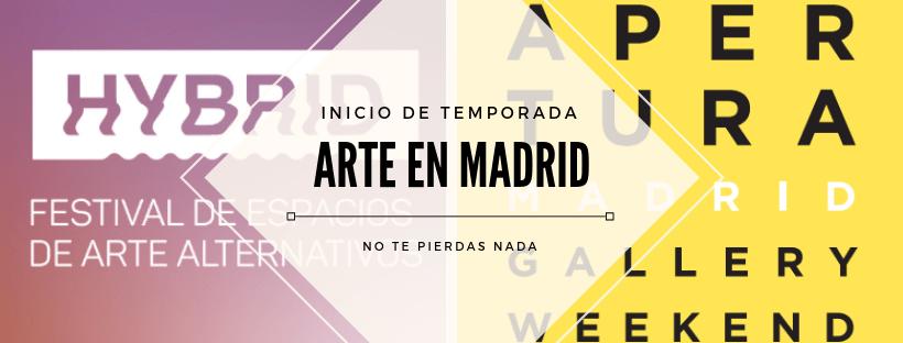 Inicio de temporada de Arte en Madrid