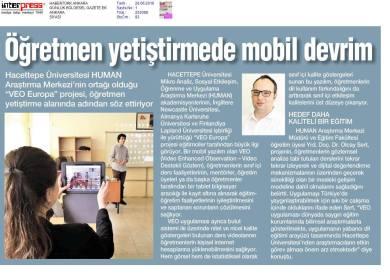 VEO Europa Turkey in the news