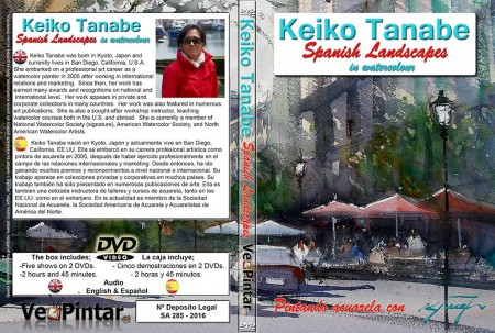 Caratula-DVD-Keiko-Tanabe-Spanish-Landscapes
