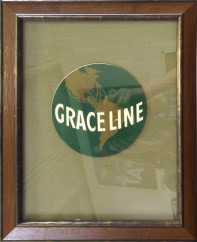 Grace Line Original Luggage Label