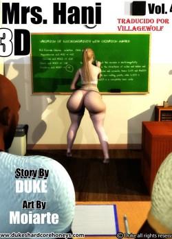 Mrs.Hani 3D Vol 4 – Dukeshardcore Honey