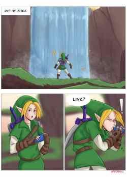 A Riverside Reunion – The Legend of Zelda