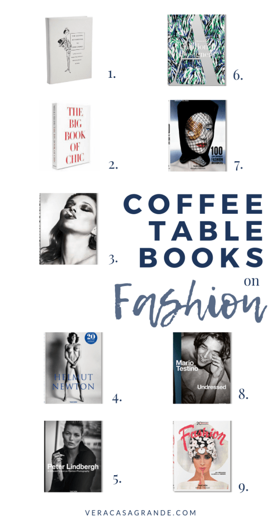 coffee table books on fashion