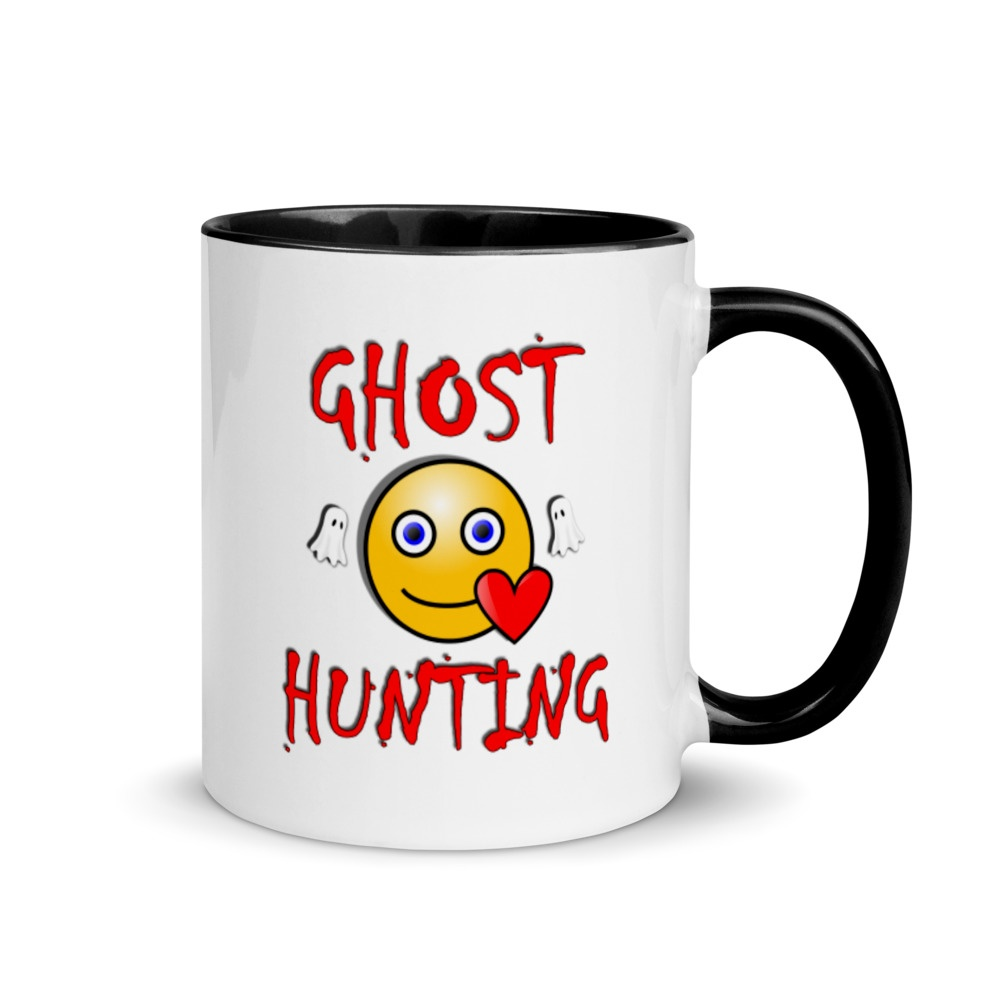 Ghost Hunting Mug - I Love Ghost Hunting