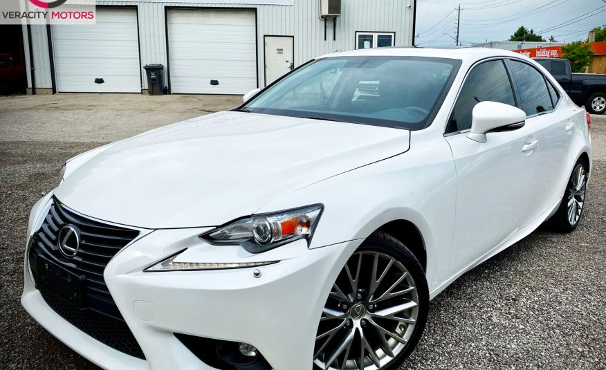2015 Lexus IS250 AWD – No Accidents!