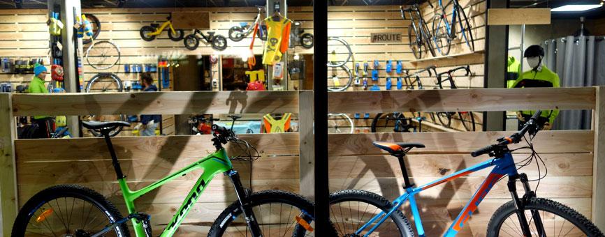 Natura Vélo, Boutique Grenoble