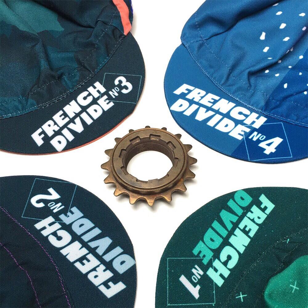 Casquettes vélo personnalisées French Divide