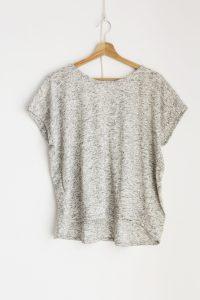 Ablesia Kimono Sleeve Grey T-shirt