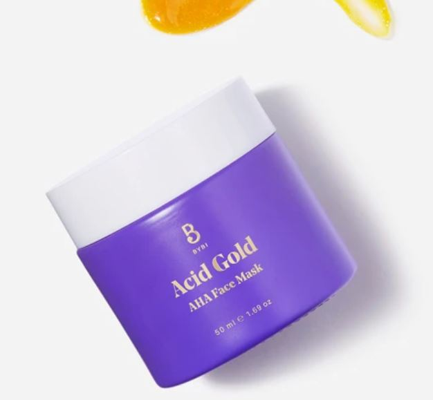 Bybi Acid Gold Exfoliation treatment