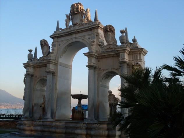 Napoli, la fontana del Gigante ©SaraRania per VeraItalia