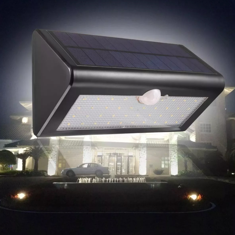 38 Led Lámpara Solar Power Motion Sensor Light Montado