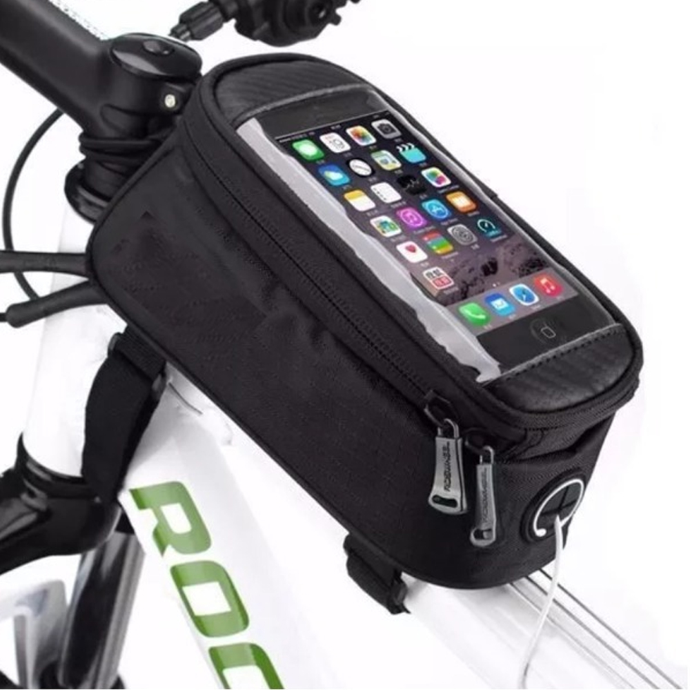 Bolsa Porta Celular Y Herramienta Para Bicicleta Impermeable
