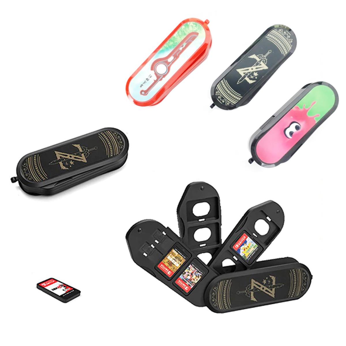 Estuche Protector De Tarjeta SD Y Micro SD Para Nintendo Switch / Ns Lite