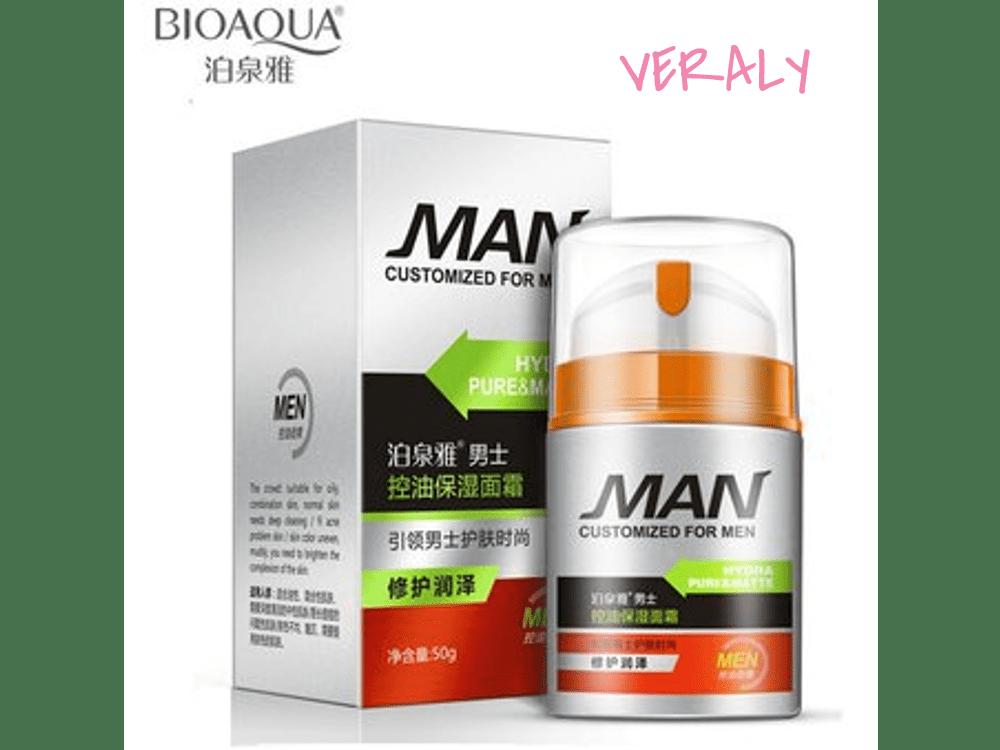 Bioaqua Crema Facial Man Hidrapure Hidratante Antiarrugas