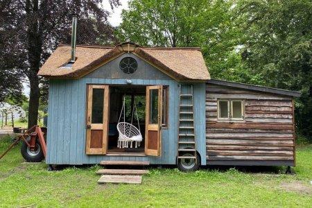 tiny house op wielen te huur