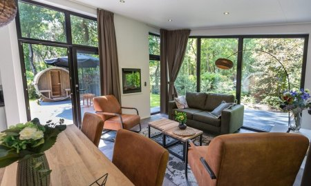 vakantiehuisje met jacuzzi Gelderland