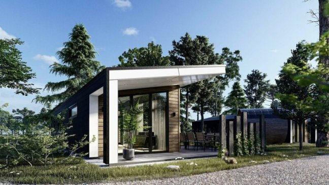 tiny houses te koop op de Vulwe