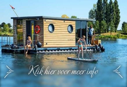tiny house op het water te huur