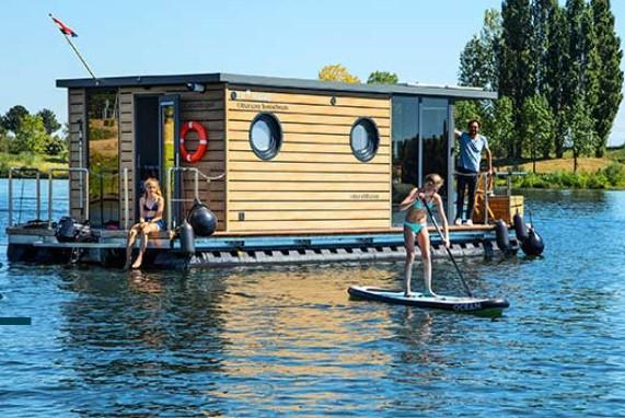 tiny house op het water