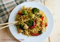 Chicken Chow Mein/ Vera's Cooking/ Verascooking.com