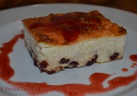 Farmer's Cheese Breakfast Cake (Zapekanka)/ Vera's Cooking/ Verascooking.com