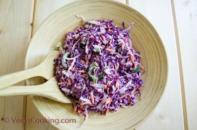 Coleslaw/ Vera's Cooking/ VerasCooking.com