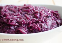 German Red Cabbage Salad/ Vera's Cooking/ Verascooking.com