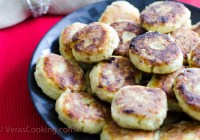 Potato Fritters/ Vera's Cooking/ Verascooking.com