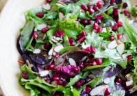 Salad with Poppyseed Dressing/ Vera's Cooking/ Verascooking.com