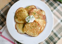 Zucchini Pancakes/ Vera's Cooking/ Verascooking.com/