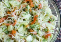 Vegetable Salad/ Vera's Cooking/ Verascooking.com