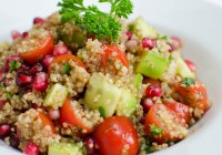 Quinoa Salad with Pomegranate/Vera's Cooking/ VerasCooking.com
