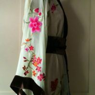 Appliquéd Kimono for Making Magazine