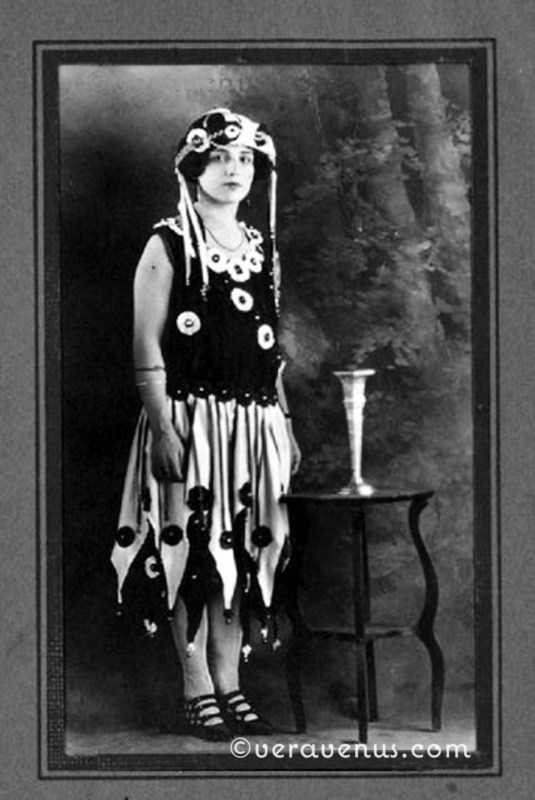 Faye- in Halloween Costume - early 1920