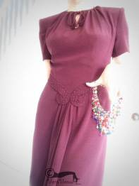 Photo of 1940s style dress made by VV