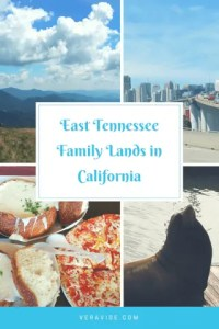 Pinterest Image for article on East Tennessee Family Going to California
