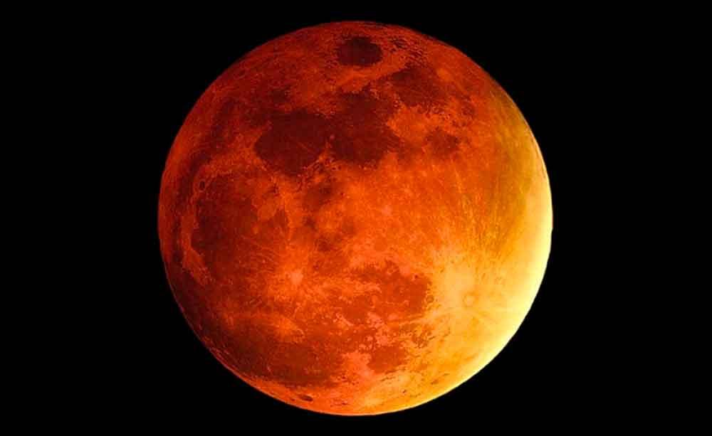 Resultado de imagen para eclipse del 31 de enero