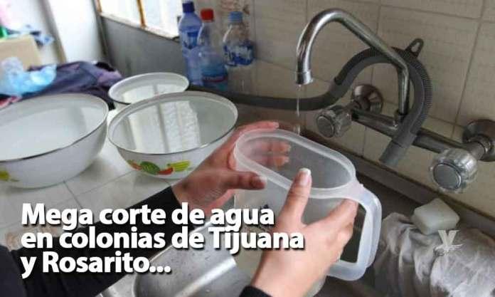 Resultado de imagen para tijuana rosarito sin agua