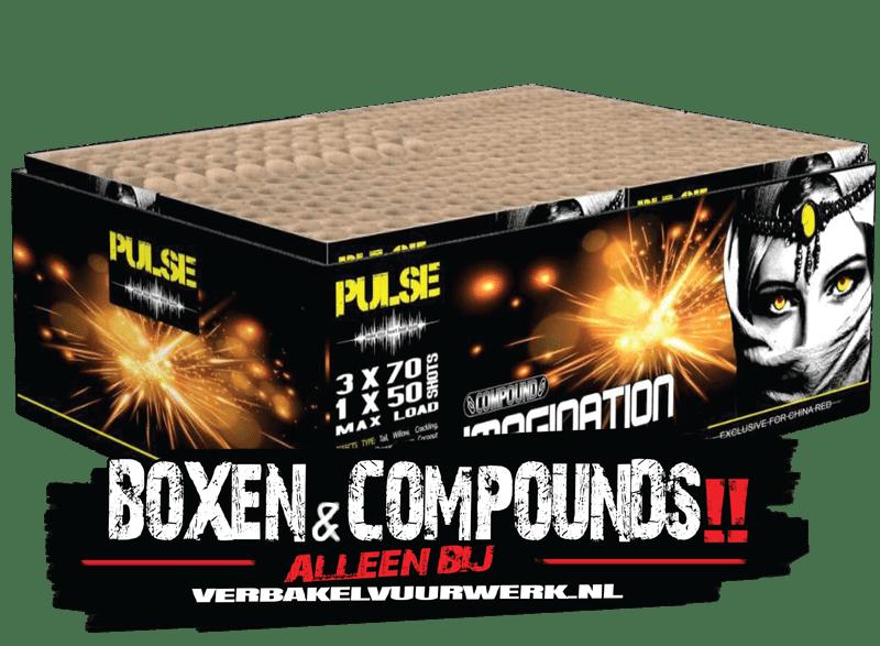 Verbakel Vuurwerk Collectie Boxen en Compounds