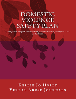 If your partner abuses you, then safety planning is priority number 1. It doesn't matter if your partner hit you before ... eventually he or she will.