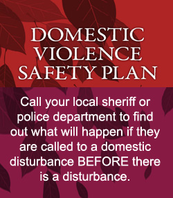 Knowing what could happen if you call the police during a domestic disturbance can give you the courage to actually call them if you need them.