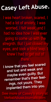 leaving abuse - casey