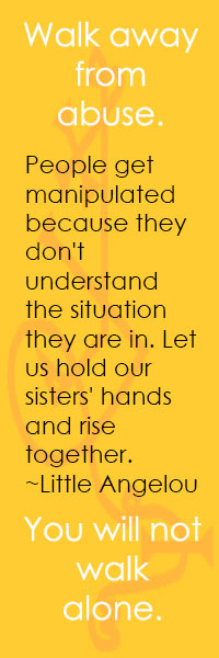 People get manipulated because they don't understand the situation they are in. Let us hold our sisters' hands and rise together. ~Little Angelou