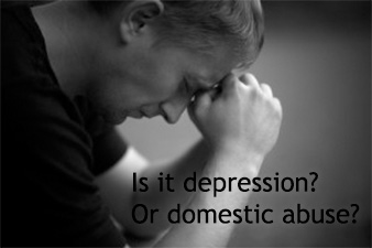 Have you ever noticed that depression symptoms reflect the dire effects of domestic abuse? If you're depressed (or abused), learn how the two relate.